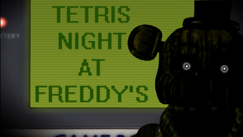 Tetris Night at Freddy's