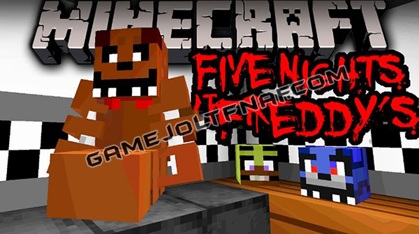 Five Nights at Freddy's Minecraft Map