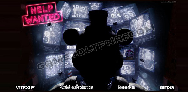 Five Nights at Freddys Help Wanted 2D