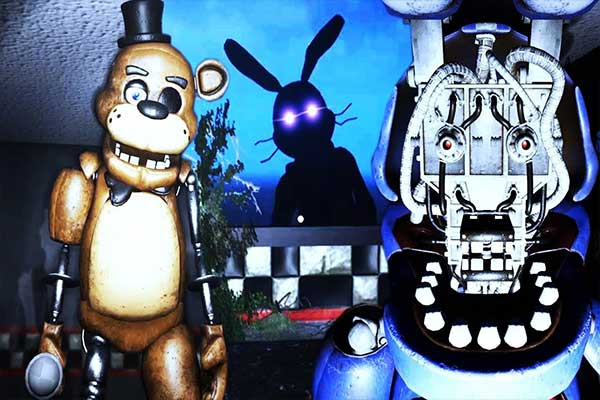 Five nights at Freddy's: Back in the 80's