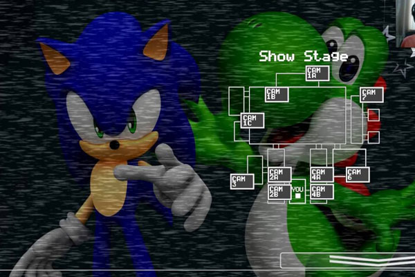 Five Night at Sonic's 5 Remake